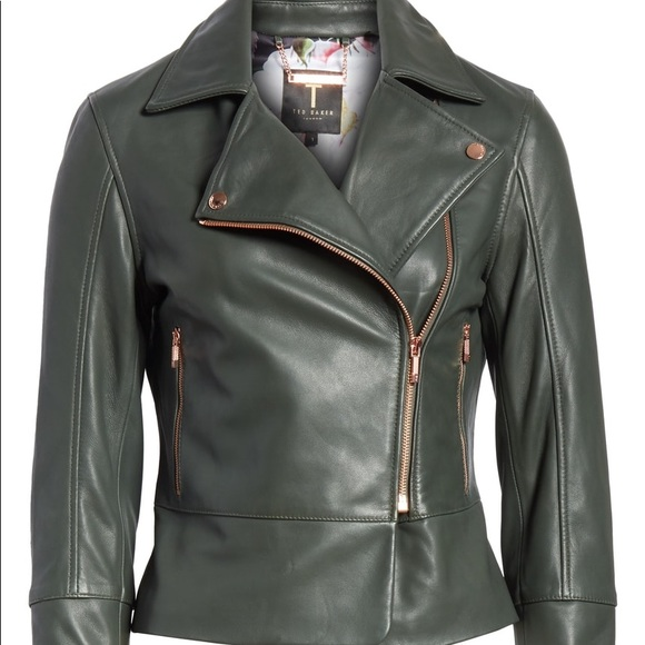 search for authentic hot sales shop for luxury Ted baker Lizia Minimal biker jacket NWT